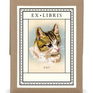 Other - Vintage image Cat Bookplates ex libris